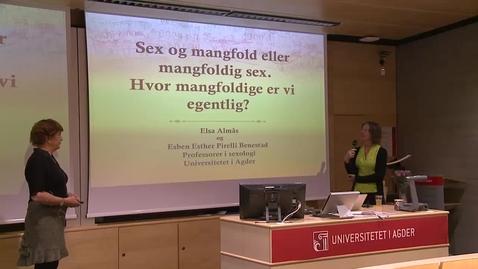 Thumbnail for entry Likestillingskonferansen 2012 - «Hvor mangfoldige er vi egentlig?»