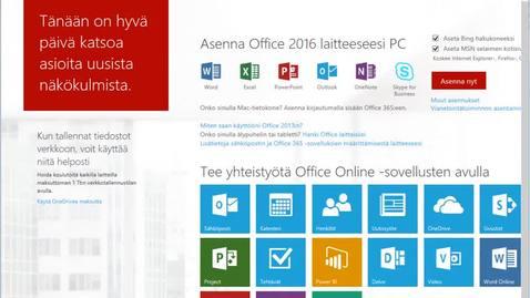 Mikä on Office eli O365?