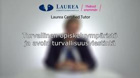Thumbnail for entry Certified Tutor -koulutus tietoiskuvideo: Turvallinen opiskeluympäristö ja avoin turvallisuusviestintä - Tiina Ranta