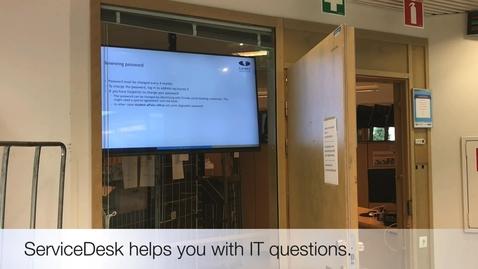 Introduction to Laurea IT ServiceDesk