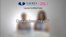 Thumbnail for entry Certified Tutor -koulutus tietoiskuvideo: Osaamisen näyttö - Katri ja Johanna