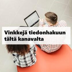 Thumbnail for channel Kirjasto- ja tietopalvelut