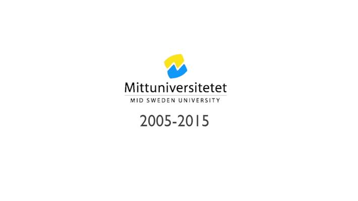 Mittuniversitetet 10 år