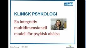 Thumbnail for entry Föreläsning 2 En integrativ modell