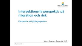 Thumbnail for entry Perspektiv på flyktingmigration - 2017 sep 24 01:59:07