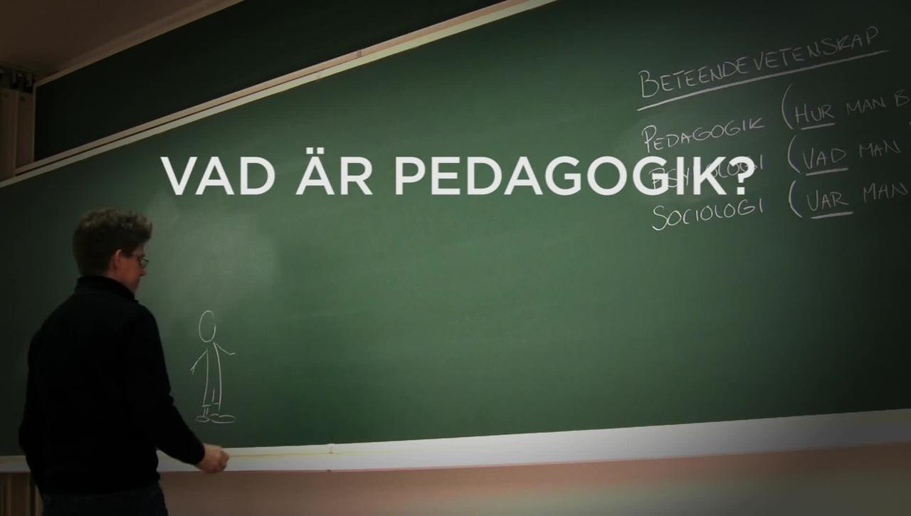 Vad är pedagogik?