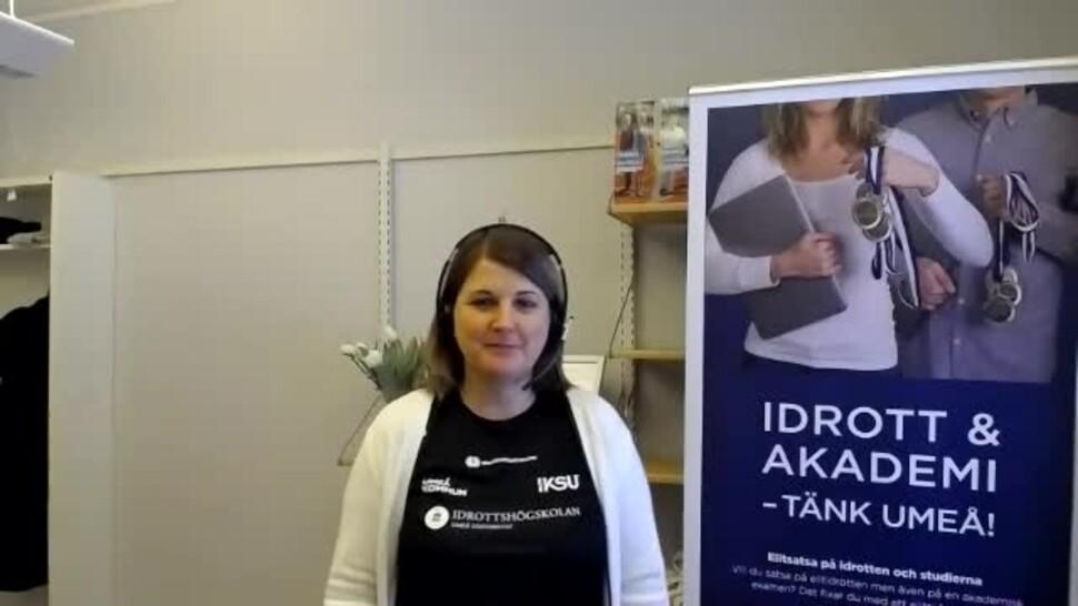 Film: Film: Idrottsrelaterade utbildningar vid Umeå universitet