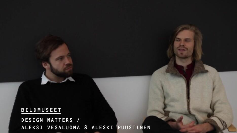 Film: Intervju Aleksi Vesaluoma & Aleksi Puustinen