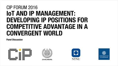 IoT and IP Management: Developing IP Positions for Competitive Advantage in a Convergent World
