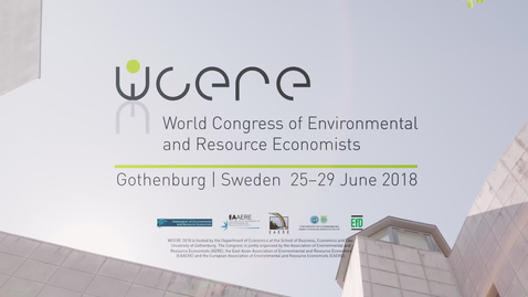 Gothenburg WCERE 2018 – 6th World Congress of Environmental and Resource Economists