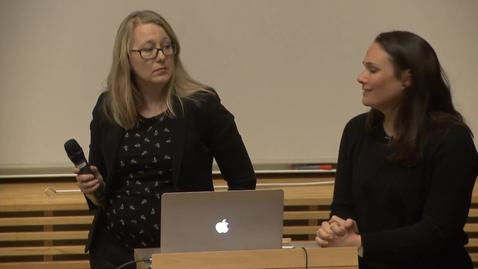 Miniatyr för inlägg Annika Hövik & Cecilia Mella – Jobba tillsammans! (del 2) / 2017