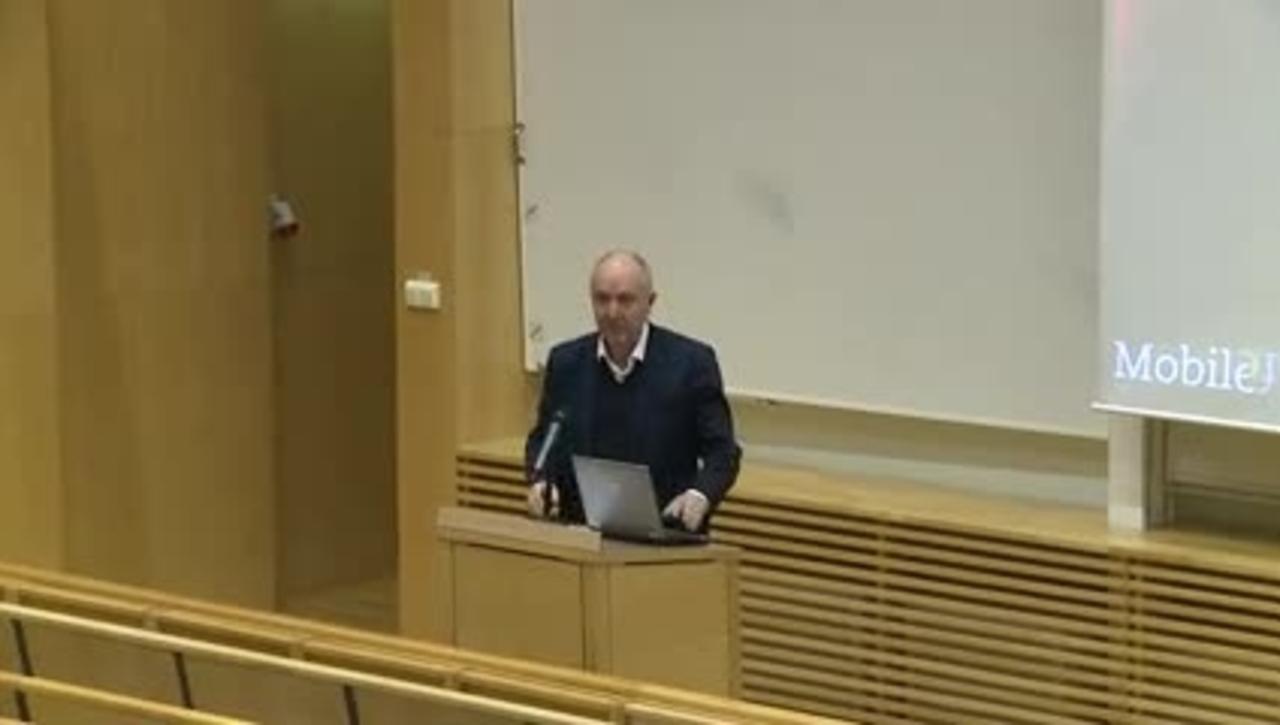 Öppen föreläsning om video interaction med Oskar Juhlin, 27 november
