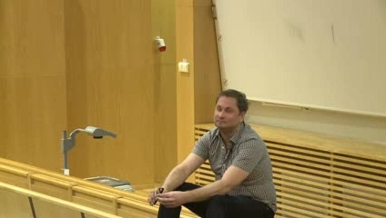 Henrik Arnstad  - frågestund  efter De ständiga förändringarnas århundraden  / 2014