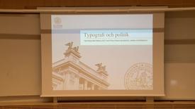 Miniatyr för inlägg Arina Stoenescu – Typografi och Politik  (del1) / 2018