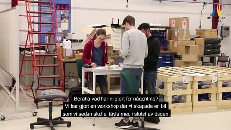 Thumbnail for entry Teambuilding för nya studenter hösten 2018 - Akademin för teknik och miljö