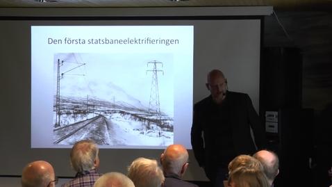 Thumbnail for entry Riksgränsbanans elektrifiering – Roine Viklund
