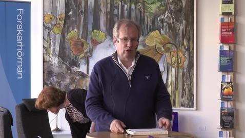 Thumbnail for entry Föredragsserien 12 minuter över 12 – Peder Thalén