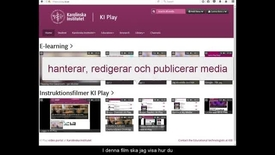 Thumbnail for entry Hantera My Media(v2)