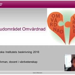 Thumbnail for channel Omvårdnad som huvudområde - teori och begrepp