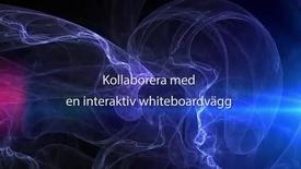 Thumbnail for entry Kollaborera med en interaktiv whiteboardvägg