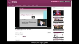 Thumbnail for entry Skapa interaktiva frågor med KI Play