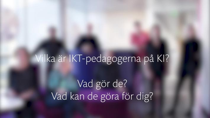 IKT-Pedagogerna på Karolinska Institutet