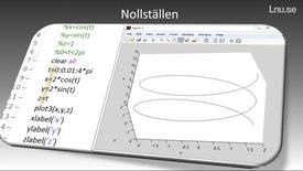 Miniatyrbild för inlägg Hitta nollställen på en funktion i matlab