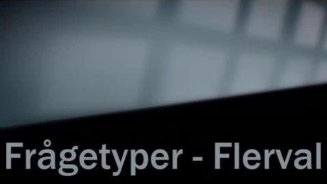 Miniatyrbild för inlägg Frågetyp Flerval