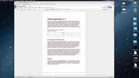 Miniatyrbild för inlägg Google Drive för studenter -Del 3 av 3 - Samarbeta i dokument