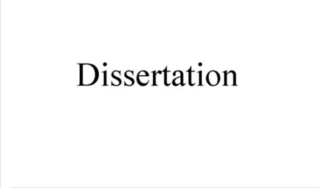 Miniatyrbild för inlägg Dissertation