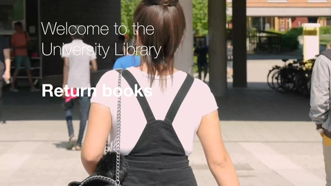 Miniatyrbild för inlägg Return books