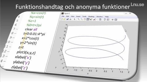 Miniatyrbild för inlägg Funktionshandtag och Anonym funktion.mp4