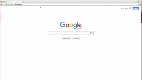 Miniatyrbild för inlägg Google för studenter - Hangouts