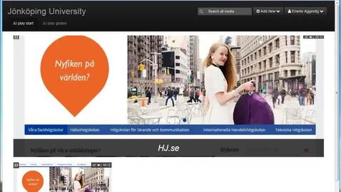 Thumbnail for entry Ladda upp fil i JU play