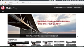 Thumbnail for entry Skapa och bädda in spellista