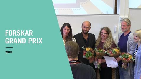 Miniatyr för inlägg Forskar Grand Prix 2018