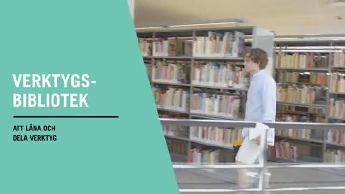 Verktygsbibliotek stärker det lokala samhället