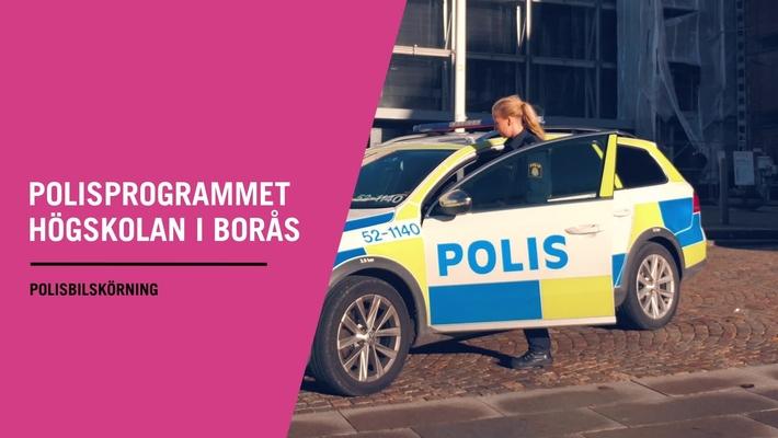 Polisprogrammet - Polisbilskörning