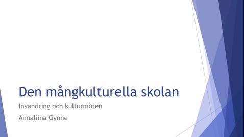 Miniatyr för inlägg Föreläsning: Den mångkulturella skolan