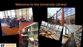 Miniatyr för inlägg Welcome to the University Library