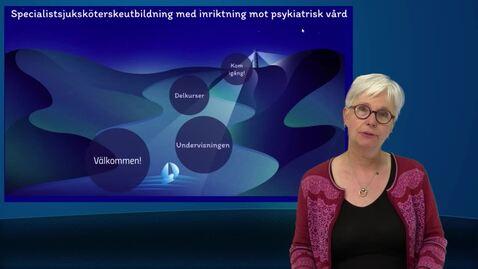 Miniatyr för inlägg Välkommen till specialistsjuksköterskeutbildningen i psykiatrisk vård