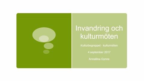 Miniatyr för inlägg Föreläsning: Kulturbegreppet och kulturmöten