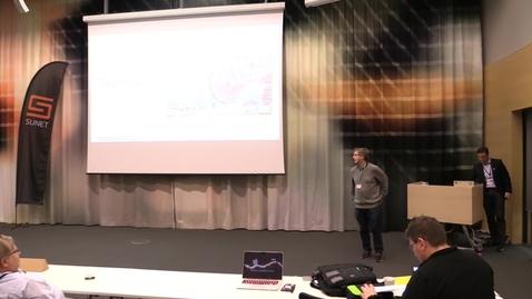 Thumbnail for entry Sunets nya tjänster mm - Leif Johansson, SUNET