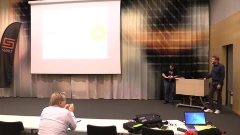 Thumbnail for entry Konsten att få Cisco ISE att funka med eduroam - Jonas Karlsson MDH